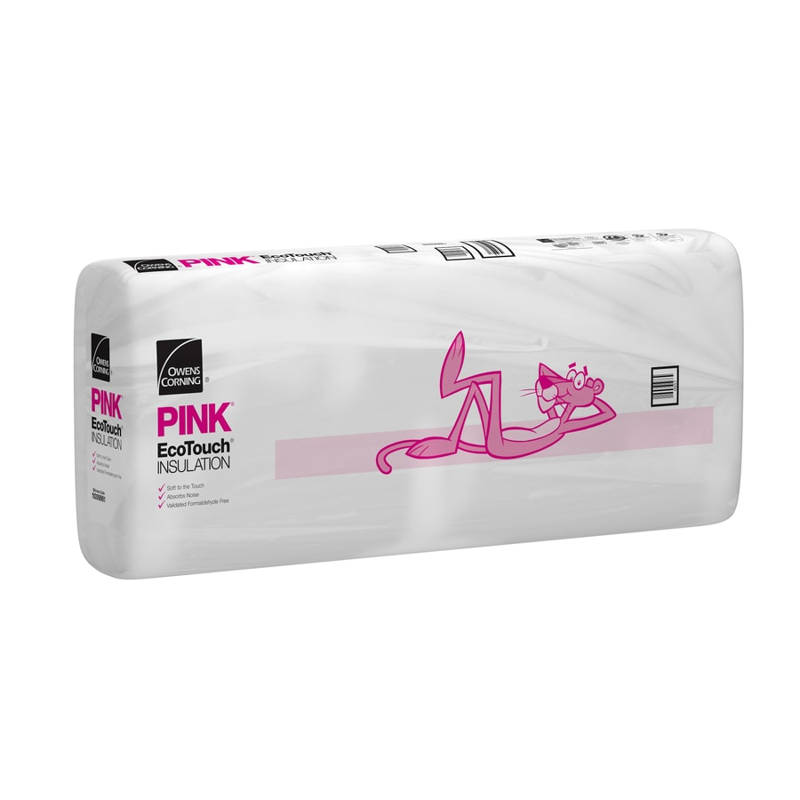 Shop owens corning r 38 ft unfaced fiberglass for Sound fiberglass insulation