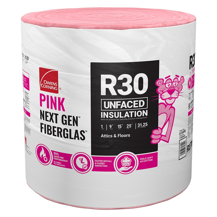 Owens Corning Pink Insulation