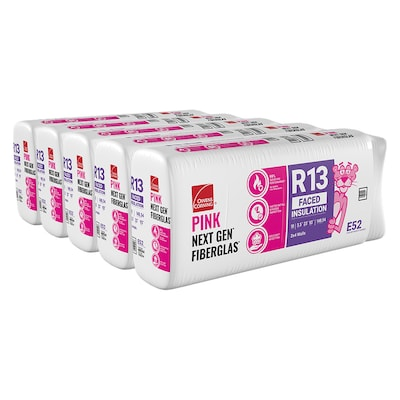 Owens Corning EcoTouch R13 23-in x93-in Faced Fiberglass