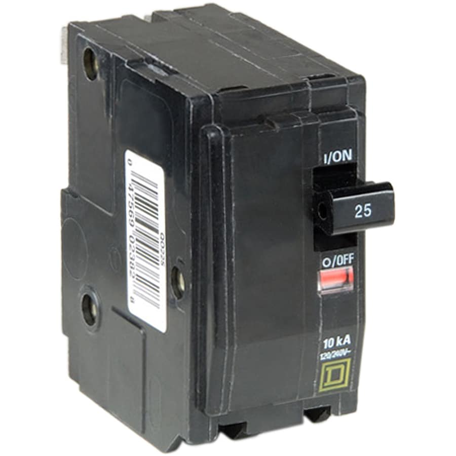 Square D Qo 25-Amp 2-Pole Double-Pole Circuit Breaker