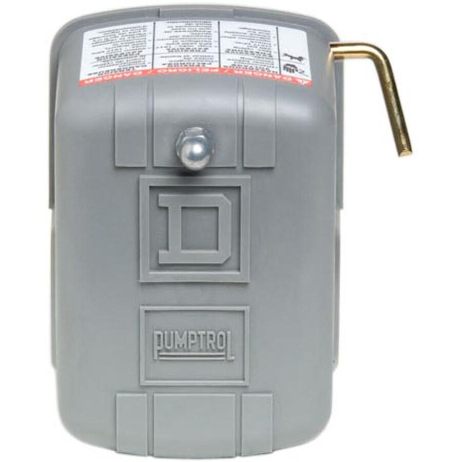 Square D 30/50-PSI Plastic Exterior Pressure Switch