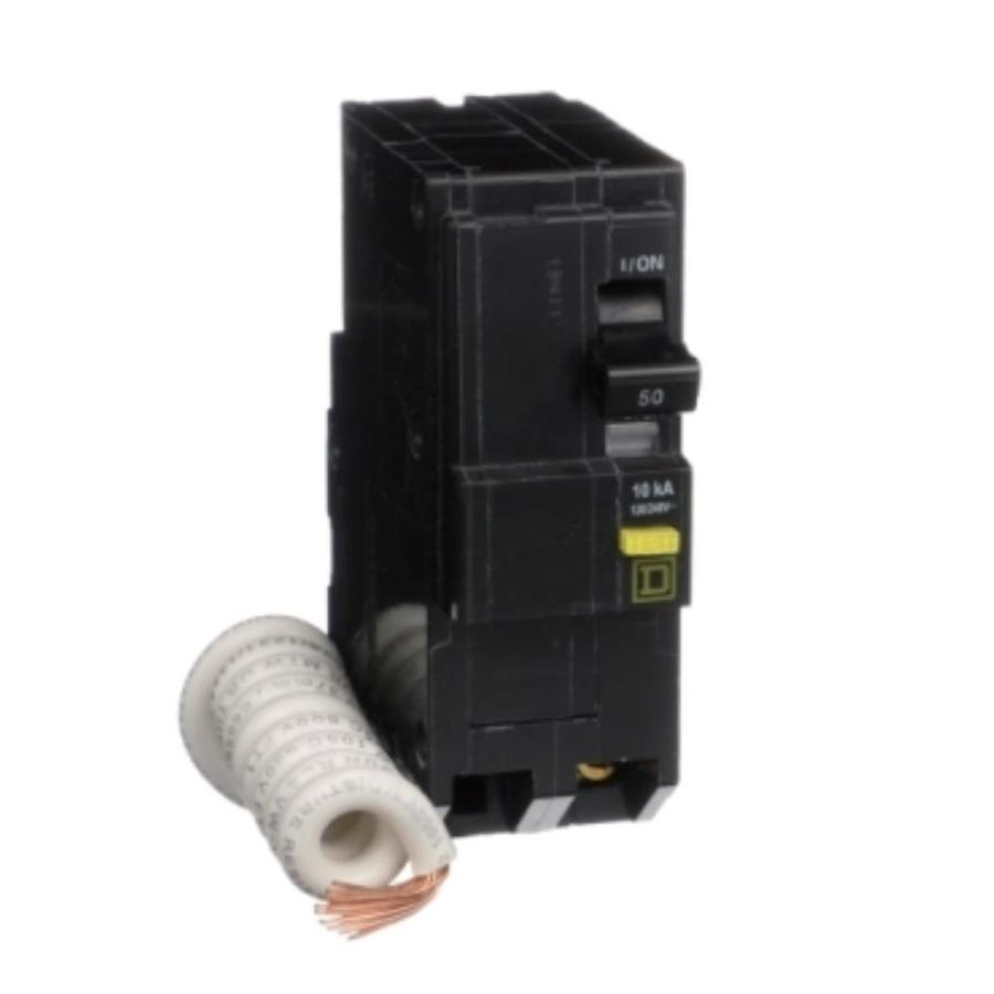 Square D QOU Circuit Breaker 50 Amp 2 Pole