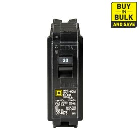 047569062711lg shop circuit breakers, breaker boxes & fuses at lowes com 20 Amp 125 Volt Outlet at eliteediting.co