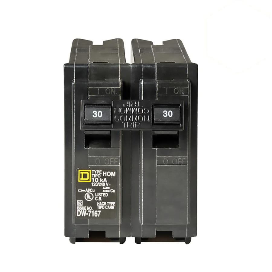 Square D Homeline 30-Amp 2-Pole Circuit Breaker