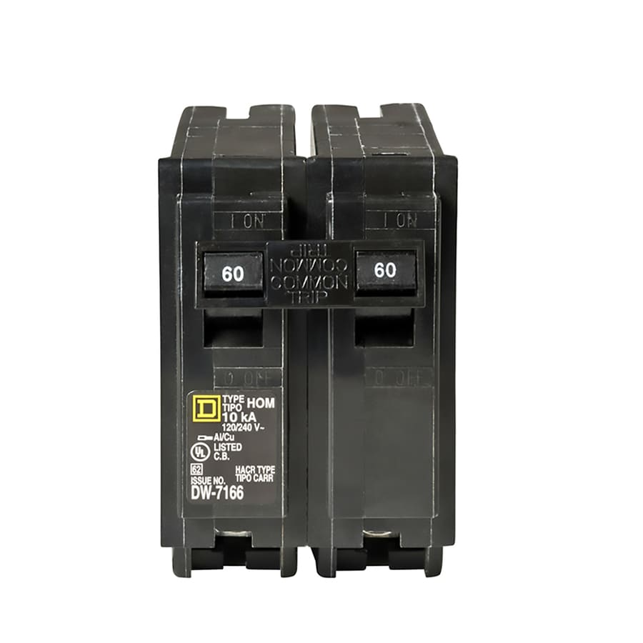 Square D Homeline 60-Amp 2-Pole Circuit Breaker