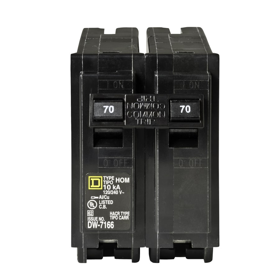 Square D Homeline 70-Amp 2-Pole Circuit Breaker