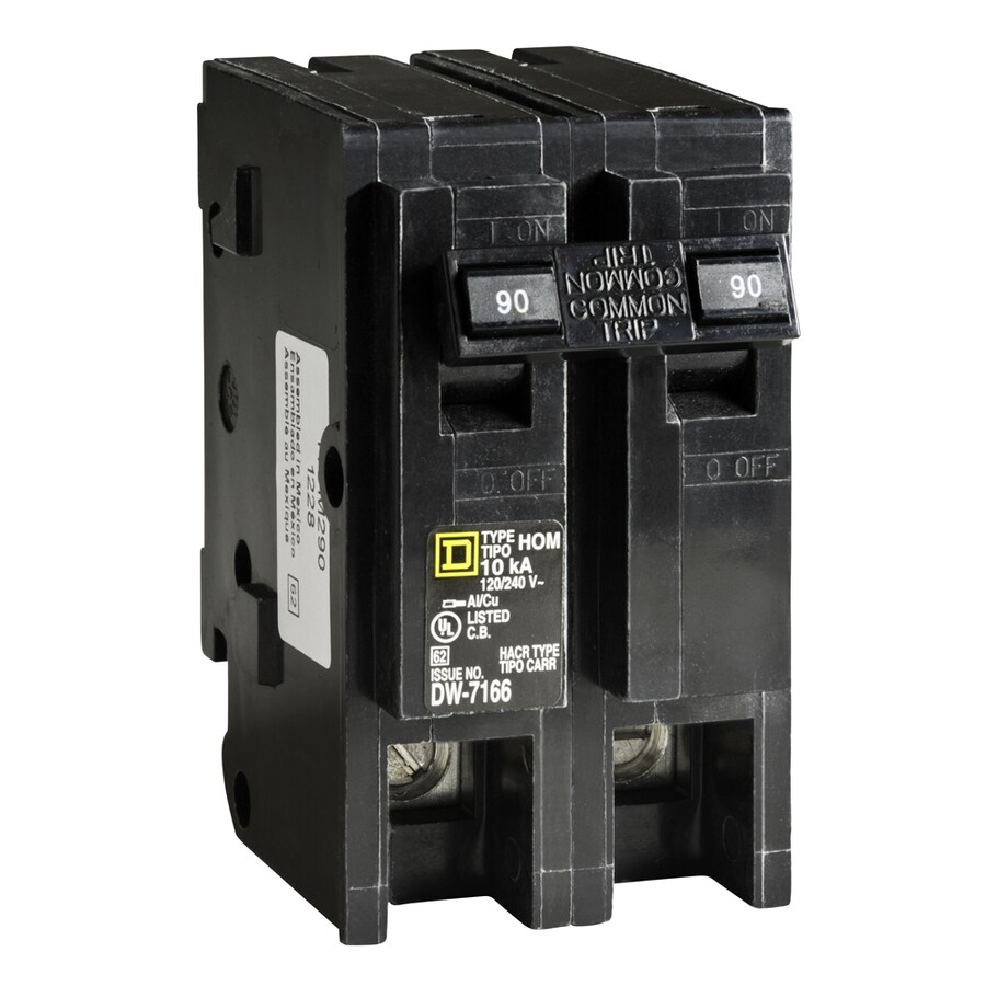 Square D Homeline 90-Amp 2-Pole Main Circuit Breaker