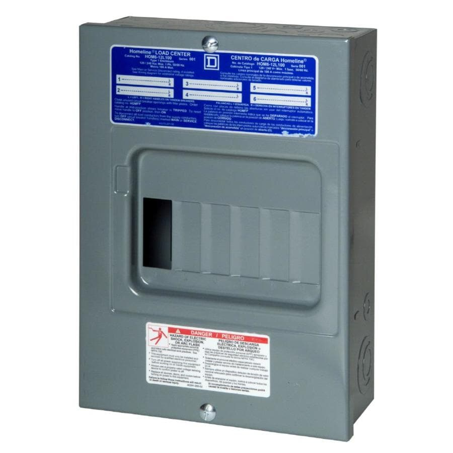 047569071232 shop breaker boxes & switches at lowes com 60 amp fuse box to 100 amp breaker box at edmiracle.co