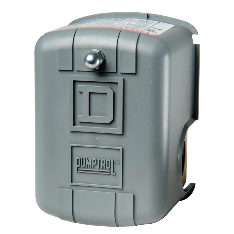 Shop Square D 40/60-PSI Plastic Exterior Pressure Switch at Lowes.com
