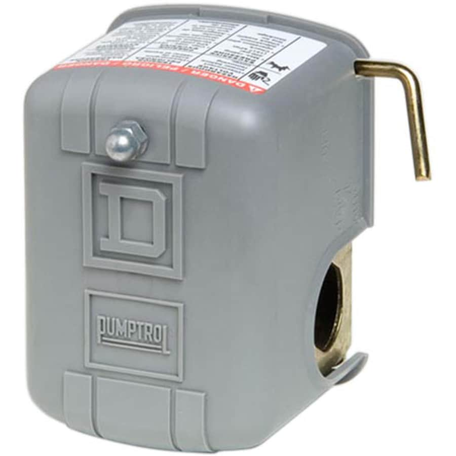 Square D 20/40-PSI Plastic Exterior Pressure Switch