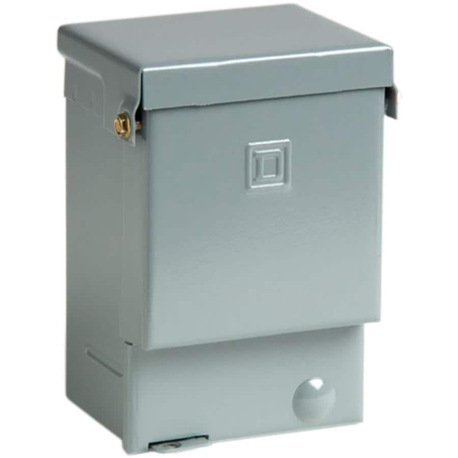 Square D 60-Amp Non-Fusible Metallic Enclosed Circuit Breaker