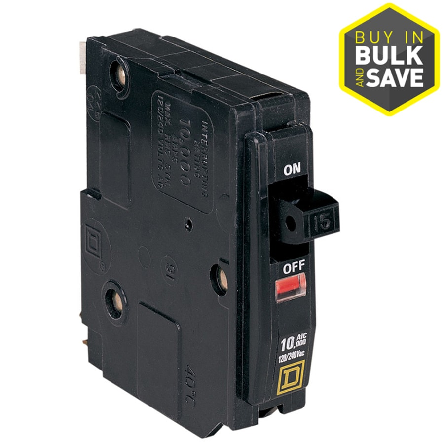 Square D Qo 15-Amp 1-Pole Single-pole Circuit Breaker