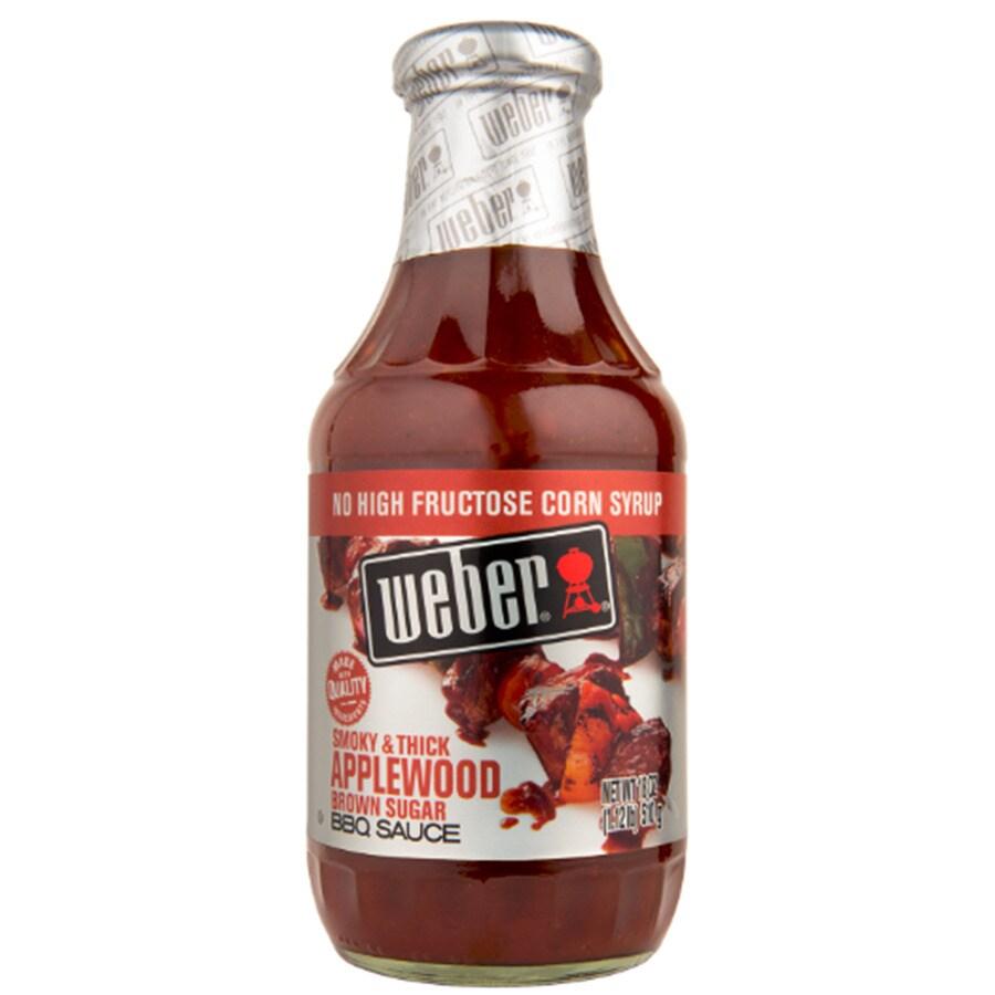 Weber 1.791-oz Apple Wood Marinade Sauce