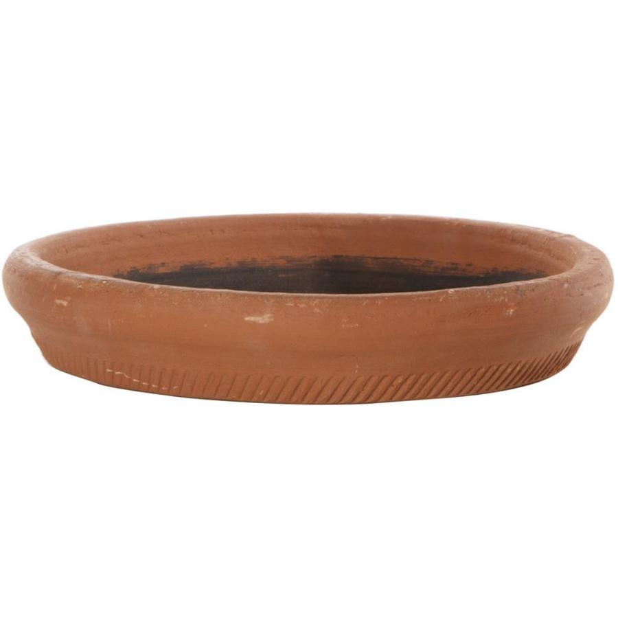 New England Pottery 12.5-in Ceramic Plant Saucer