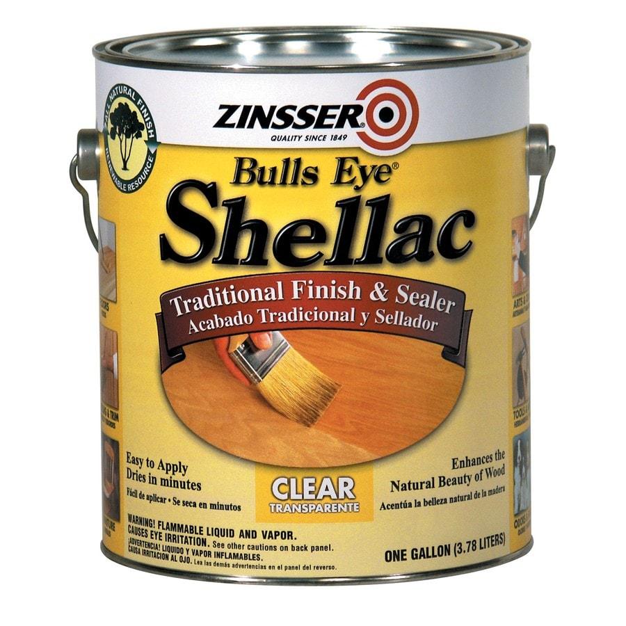 Zinsser Bulls Eye 128-fl oz Clear Water-Based Shellac