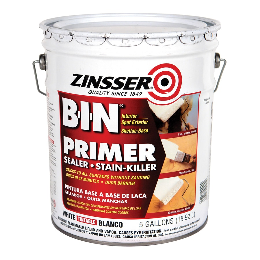 Shop Zinsser B I N Interior Oil Primer Actual Net Contents 640 Fl Oz At