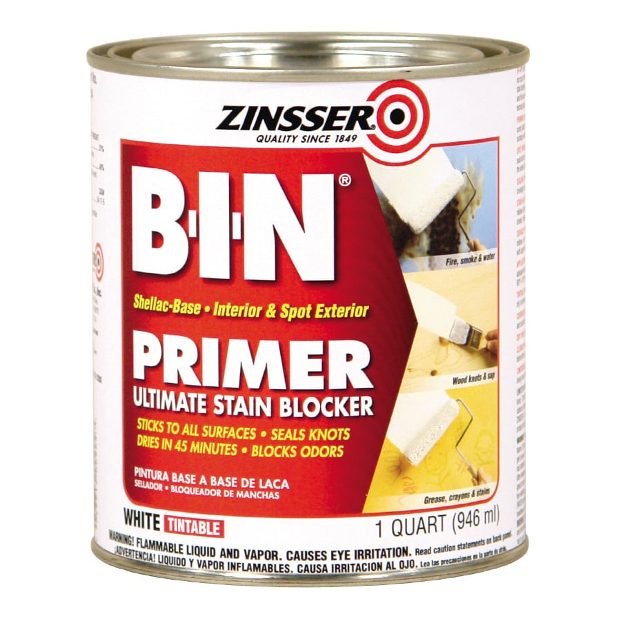 Zinsser B-I-N Interior Oil Primer (Actual Net Contents: 32-fl oz)