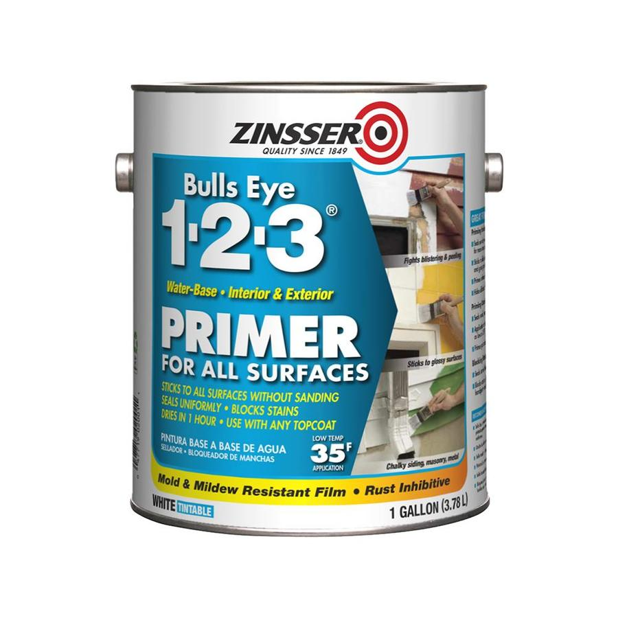 Zinsser Bulls Eye 1-2-3 Multi-purpose Primer  (Actual Net Contents: 128-fl oz)