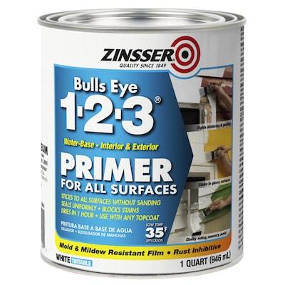 Zinsser Bulls Eye 1-2-3 Interior/Exterior Multi-purpose