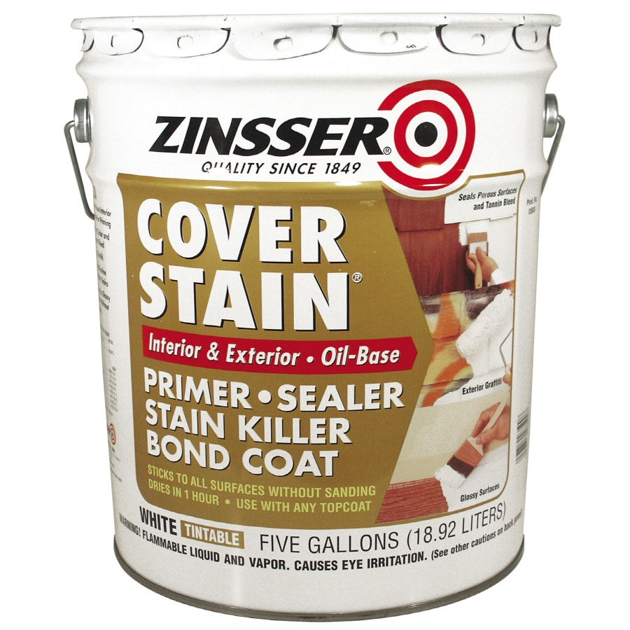 Zinsser Cover Stain Interior Oil Primer (Actual Net Contents: 640-fl oz)