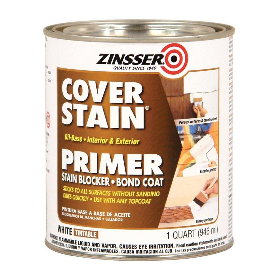 Zinsser Cover Stain Interior/Exterior Oil Primer (Actual Net Contents: 32-fl oz)
