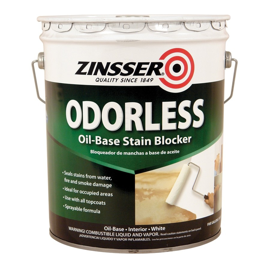 Zinsser Bulls Eye Odorless Interior Oil Primer (Actual Net Contents: 640-fl oz)