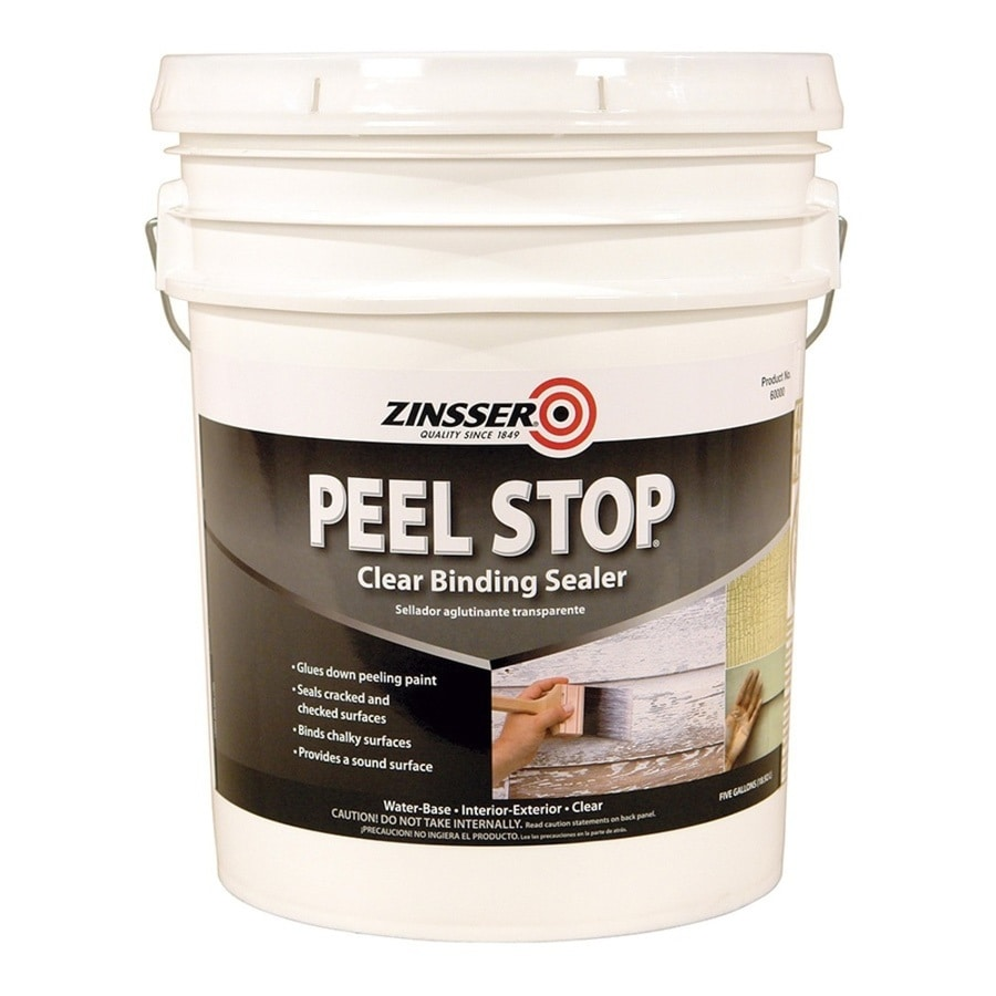 Shop Zinsser Peel Stop Interior Exterior Latex Primer Actual Net Contents 640 Fl Oz At