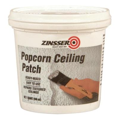 Popcorn Ceiling Patch 32 Fl Oz White Popcorn Ceiling Texture