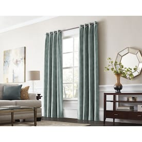 "Wolf Darkening Eyelet Ring Top Curtain for Living Room,65x59/"",2Panels//Set"