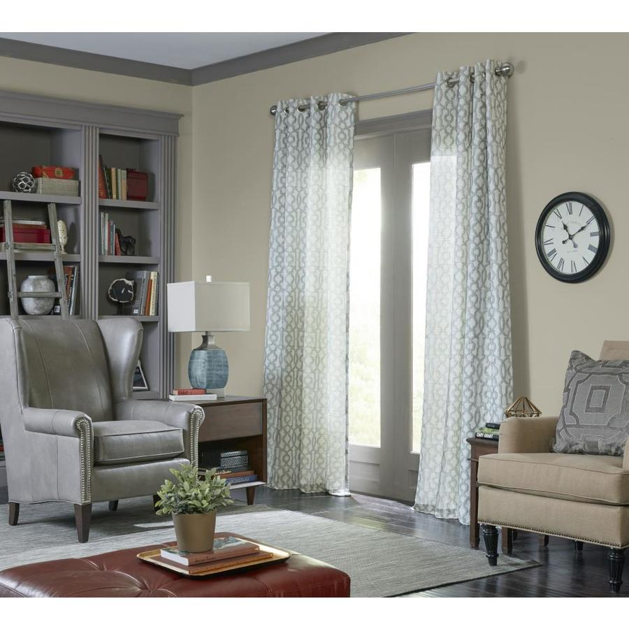 allen + roth Wrenbury 95-in Mineral Polyester Grommet Light Filtering Single Curtain Panel