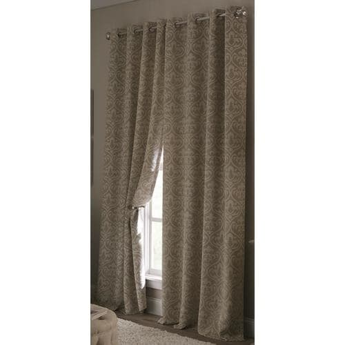 Allen + roth Cecile 63-in Tan Polyester Room Darkening ...