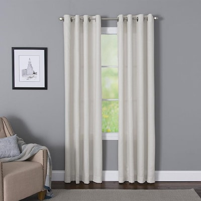 White Curtains Drapes At Lowes Com