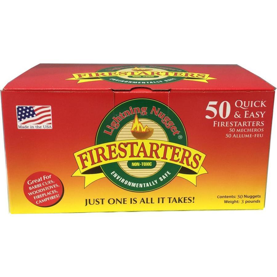 Lightning Nuggets 50-Pack 3-lb Firestarter