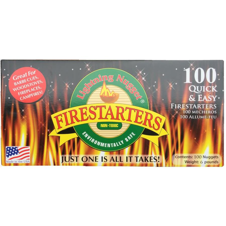 Lightning Nuggets 100-Pack 6-lb Firestarter