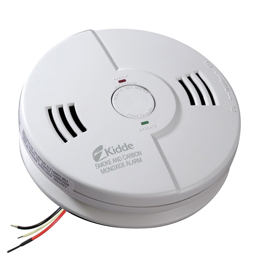 Kidde AC Hardwired Combination Smoke and Carbon Monoxide Detector with Battery Back-Up