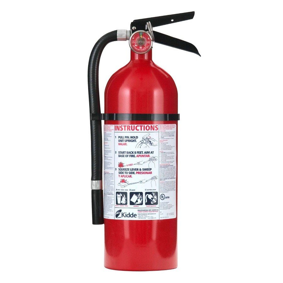 Kidde Pro Rechargeable Fire Extinguisher
