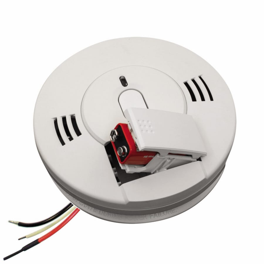 Kidde AC Hardwired Voice Alert Carbon Monoxide Alarm And Smoke Detector  With Battery Back Up