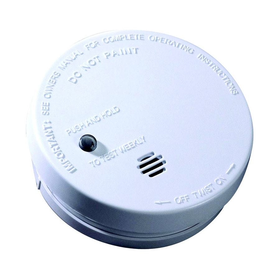 Fire Sentry 2-Pack Battery-Powered 9-Volt Smoke Detector