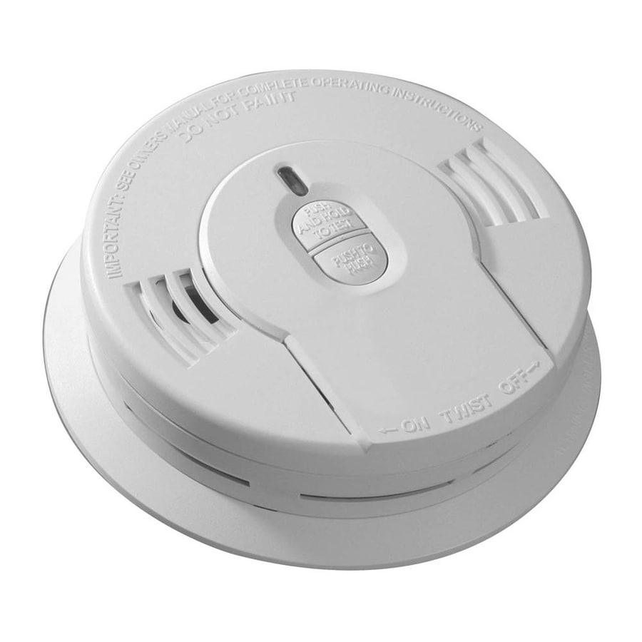 Kidde Battery-Powered 3-Volt Smoke Detector