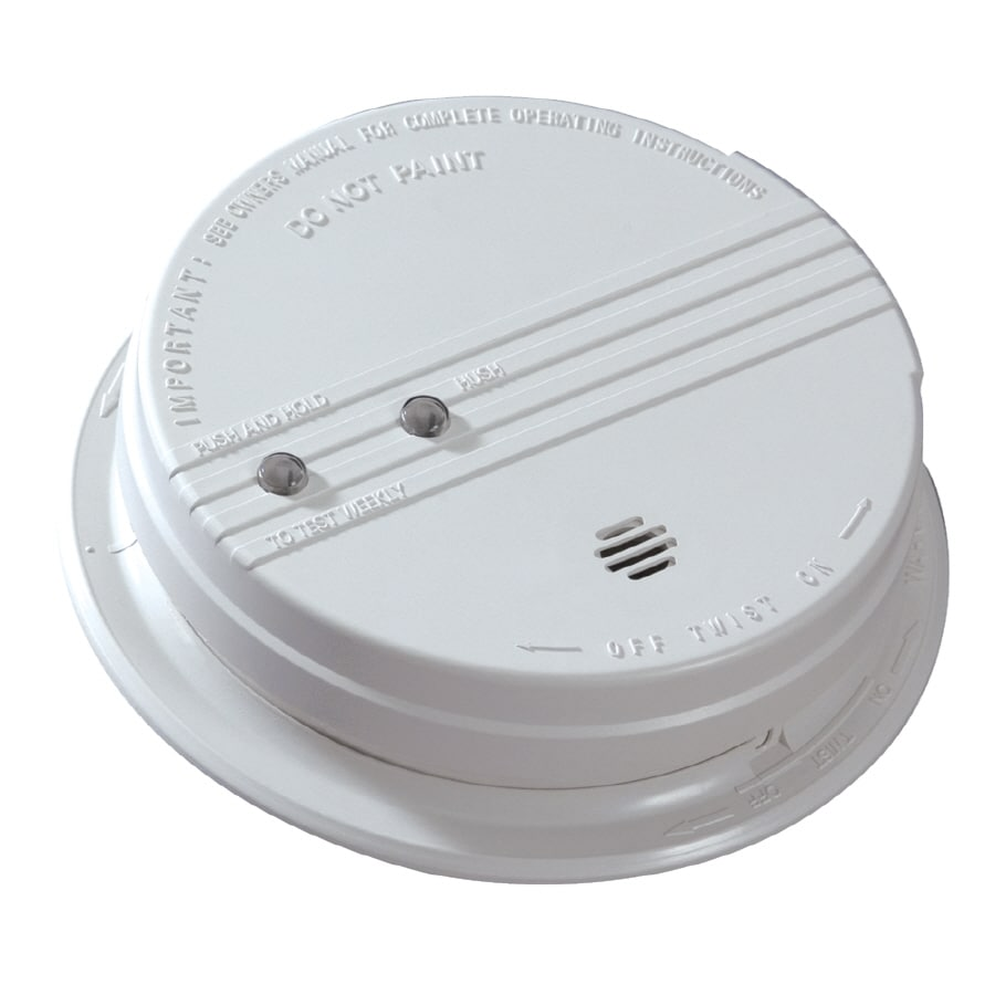 Kidde AC Hardwired 120-Volt Photoelectric Smoke Detector