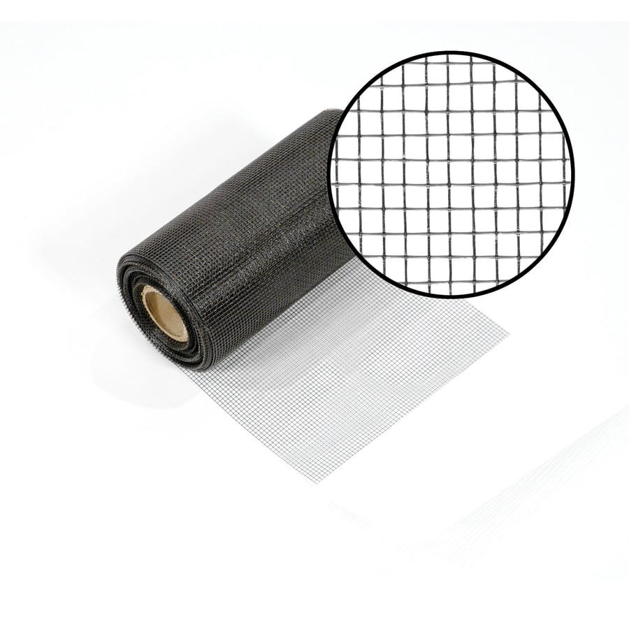 Phifer Vent Mesh 8 In X 100 Ft Charcoal Fibergl Screen