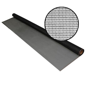 Phifer Pool and Patio 5-ft x 25-ft Charcoal Fiberglass Screen Mesh