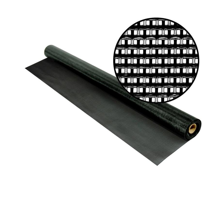 Phifer SunTex 80 36-in x 25-ft Black Vinyl-Coated Polyester Screen Wire