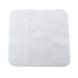 Charmant Style Selections 21 In X 21 In White Polyester Shower Stall Mat