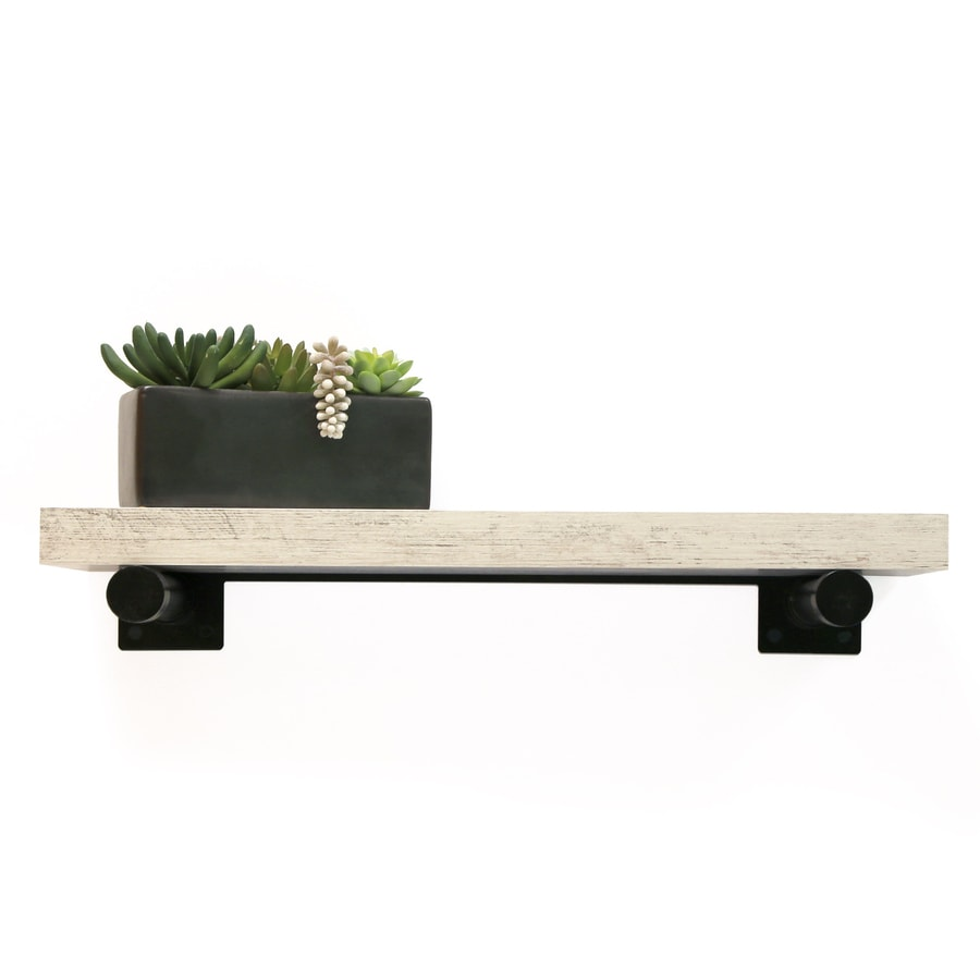 Inplace 36 In L X 1 5 In H X 8 In D Wall Mounted Shelving