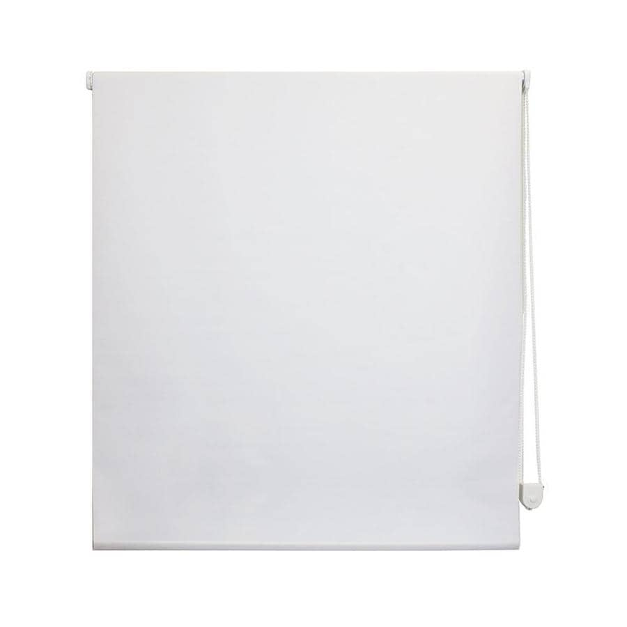 Radiance White Blackout Polyester Roller Shade (Common 27-in; Actual: 27-in x 72-in)