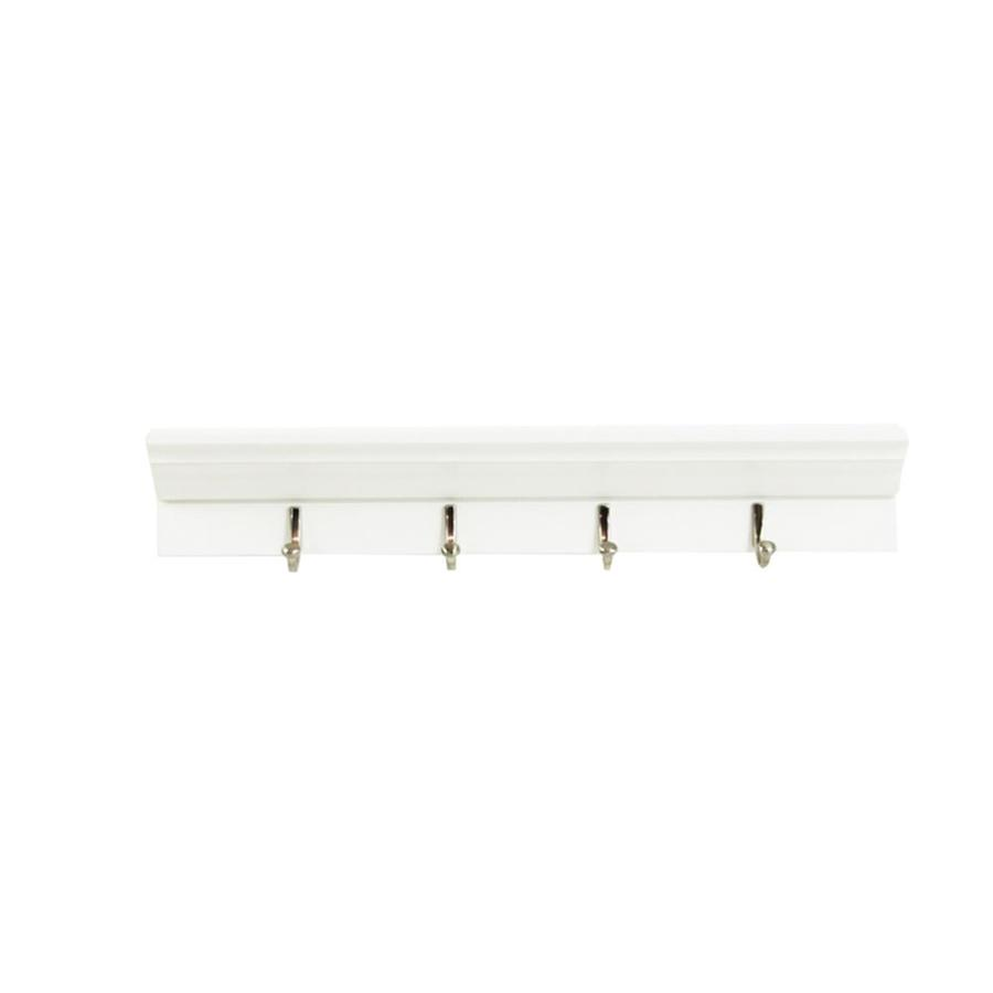 allen + roth 24-in W x 4.25-in H x 3-in D Wood Wall Mounted Shelving