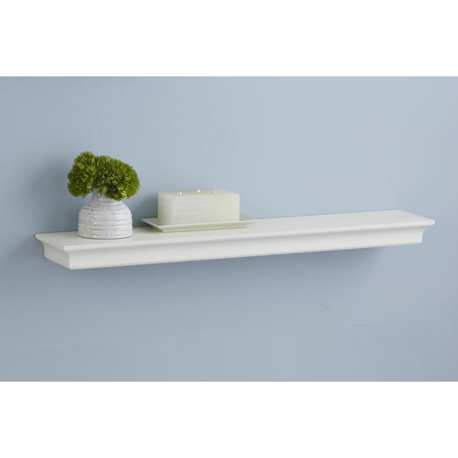 allen + roth 18-in W x 2.64-in H x 7.64-in D Wall Mounted Shelving