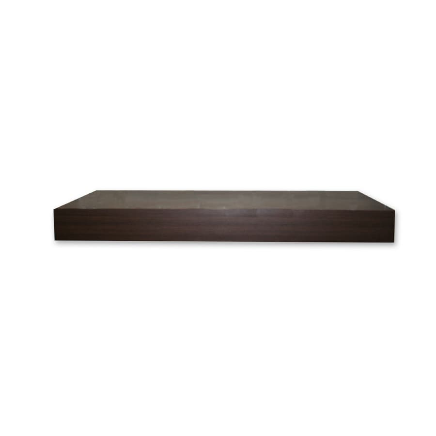 Real Organized 24-in Wood Wall Mounted Shelving