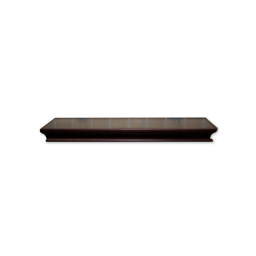 Real Organized 36-in Wood Wall Mounted Shelving